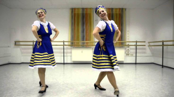 kalinka dance (Rus kızları tarafından farklı yorum)