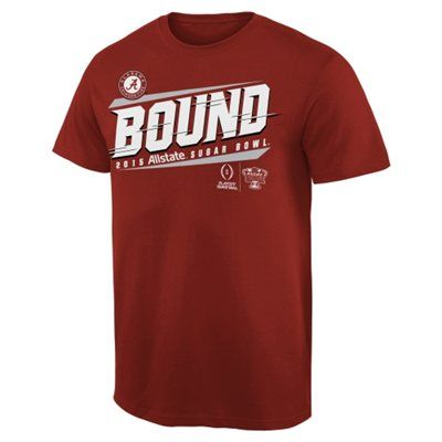 Men s alabama crimson tide crimson 2015 college football for University of alabama football t shirts