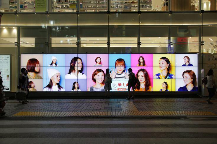 "Interactive Shop Window ""LOOKS"" | AINZ&TULPE"