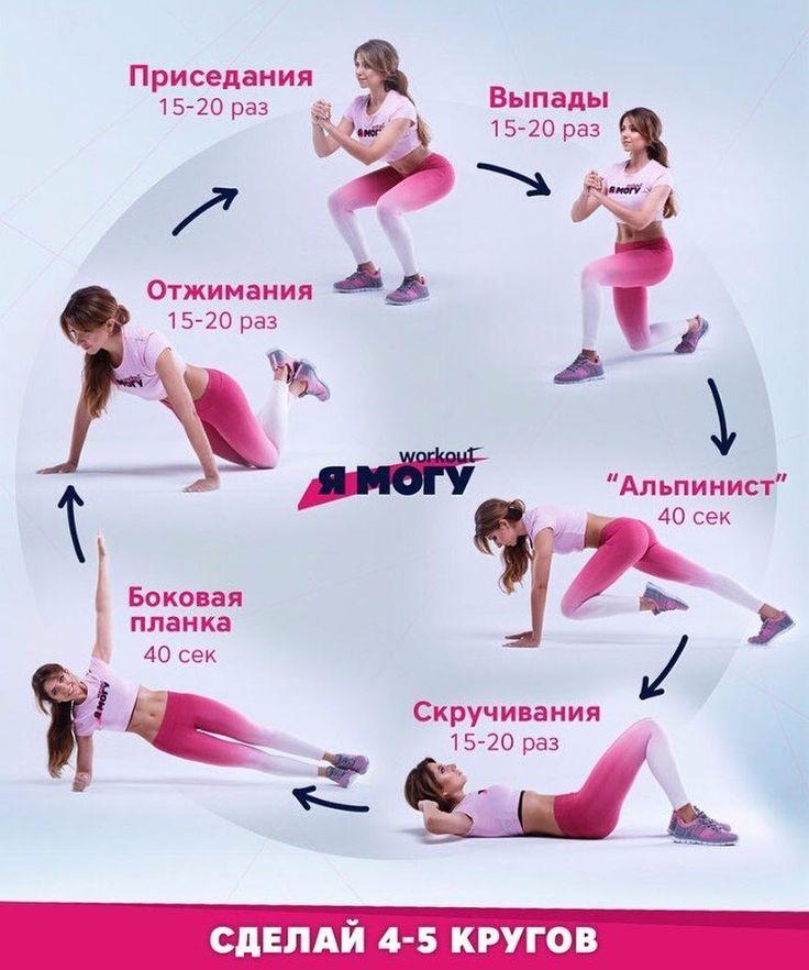 Интенсивный Курс Похудения Спорт. Как похудеть за 1 месяц: программа похудения