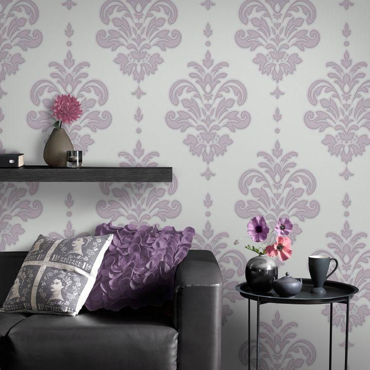 7 best Dining room wallpaper images on Pinterest | Damask ...