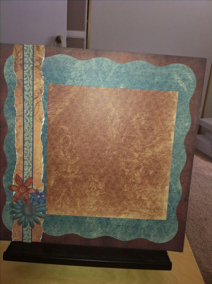 Creative Memories scrapbook page. Reminisce power palette. #scrapbook http://www.creativememories.com/user/chinohills