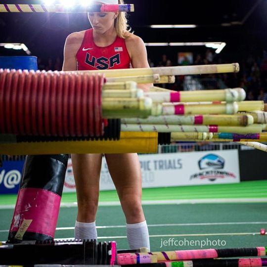 Sandi Morris at 2016 IAAF Indoor World Championships