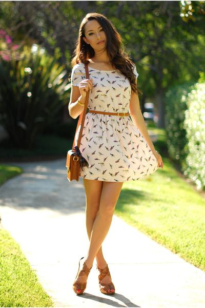 Love this dress :): Clouds, Style, Purse, Coffee, Outfit, Hapa Time, Belt, Beautiful Summer Dresses