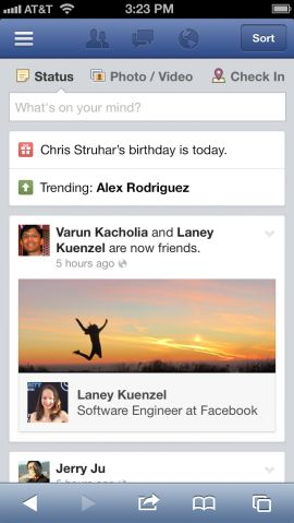Facebook Trending Topics Currently Being Tested On A Small Scale