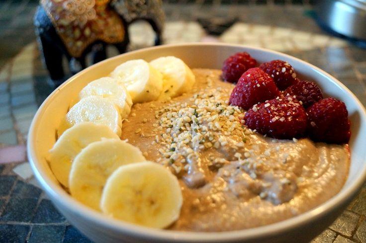 Raw Carob Inspired Buckwheat Porridge