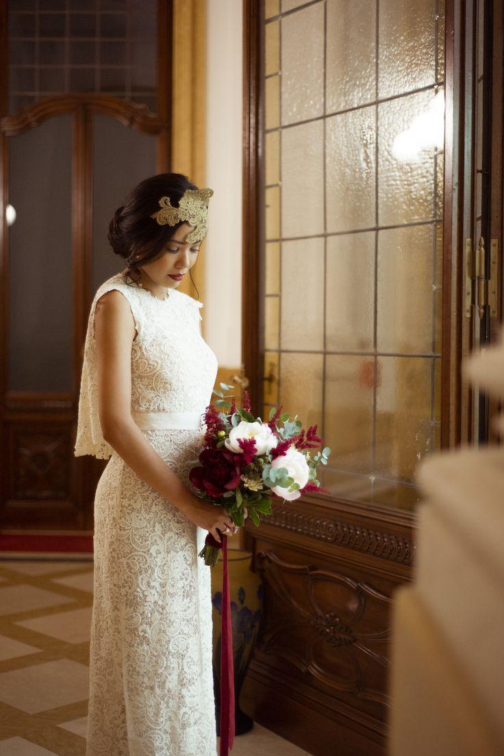 wedding dress by il sogno atelier