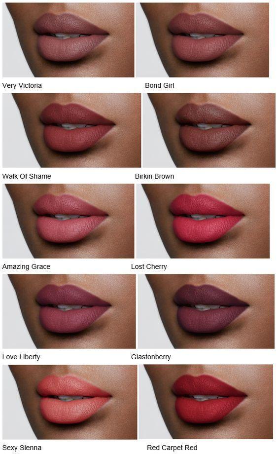 Super Les 25 meilleures idées de la catégorie Couleurs de rouge à lèvres  KK33