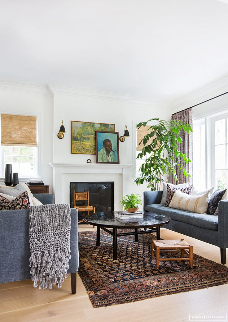 Inspiration deco: ethnic carpets |  Amber Interior Design - Rad trad project