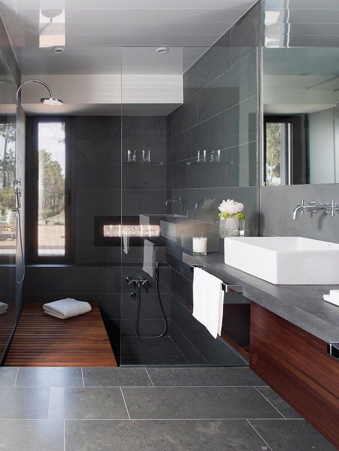les 25 meilleures id es concernant salles de bains de luxe. Black Bedroom Furniture Sets. Home Design Ideas