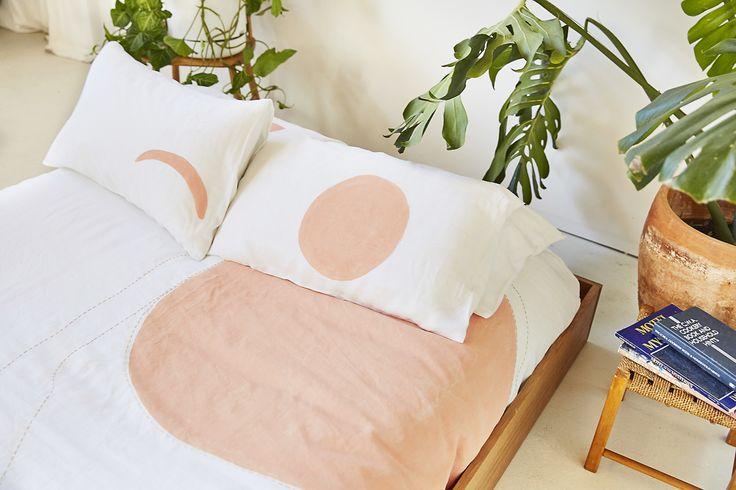 Blush Eclipse – Set of 2 Pillowcases
