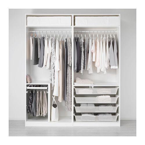 Ikea kleiderschrank weiß hochglanz  Die besten 25+ Pax kleiderschrank Ideen auf Pinterest | Ikea pax ...