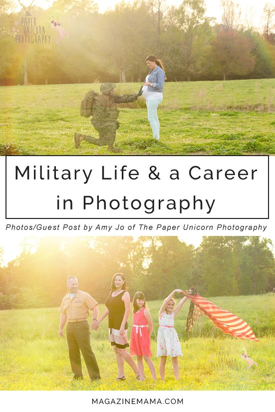 A unique perspective from a USMC veteran, military spouse and photographer, talking about pros and cons of being in the military or married to a service member and balancing a photography career.  http://www.magazinemama.com/blogs/editors-blog/34648452-military-life-and-a-photography-career