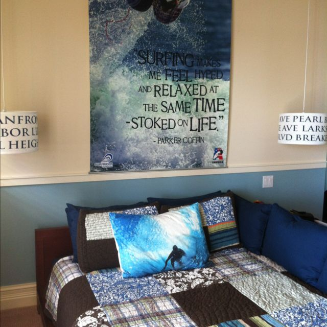 The 25 best boys surf room ideas on pinterest surfer for Boys beach bedroom ideas