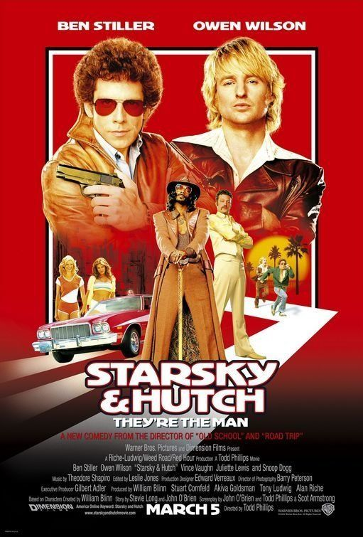 (Credit-Warner Bros) Best And Worst Film Adaptations Of TV Shows: 'Starsky & Hutch' Rebooting an iconic show like 'Starsky & Hutch' is always a risk, but Owen Wilson and Ben Stiller (plus Vince Vaughn, Will Ferrell and the rest of the usual suspects) managed to pull it off.