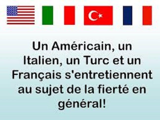 un am u00e9ricain  un italien  un turc et un fran u00e7ais s