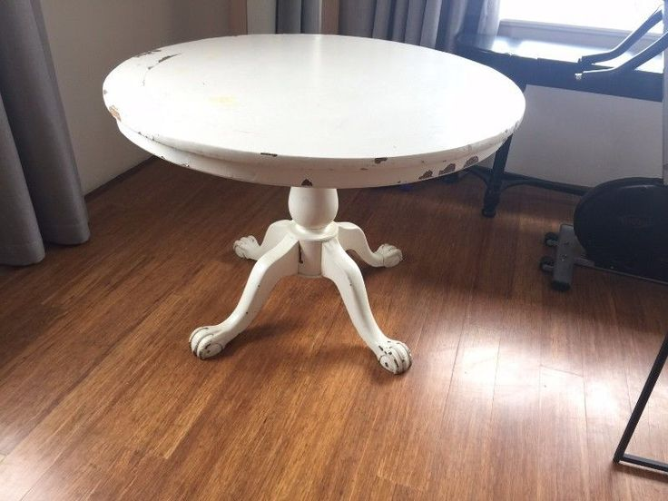 Beautiful entrance table, very solid,, distressed finish, top comes off for easy transporting. No longer have use for it - price a little negotiable but within reason