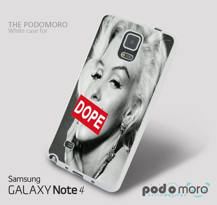 Marilyn Monroe Art Dope for iPhone 4/4S, iPhone 5/5S, iPhone 5c, iPhone 6, iPhone 6 Plus, iPod 4, iPod 5, Samsung Galaxy S3, Galaxy S4, Galaxy S5, Galaxy S6, Samsung Galaxy Note 3, Galaxy Note 4, Phone Case