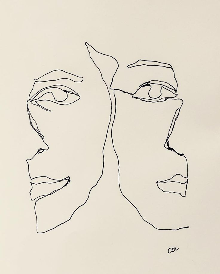 Gesichter wechseln – eine Strichzeichnung von Colly   – Embroidery Design – #Colly #Design #eine #Embroidery #Gesichter