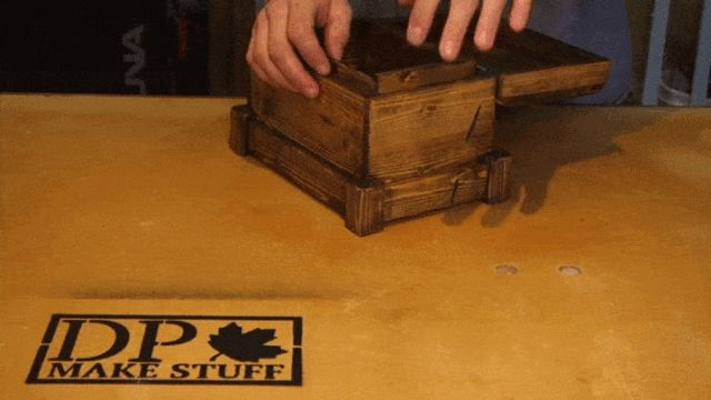 How to Build a Secret Compartment Box Out of Little More Than a 2 x 4 - PopularMechanics.com