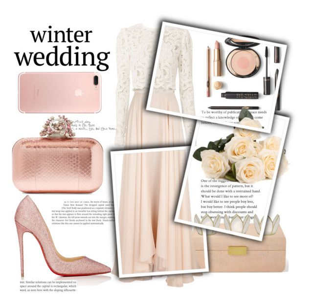 """""""Casamento no inverno"""" by thais-santana-1 ❤ liked on Polyvore featuring AERIN, Lanvin, A.L.C., Christian Louboutin, Jimmy Choo and Cultural Intrigue"""