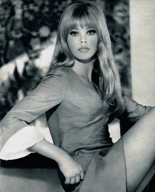 beautiful Britt Ekland