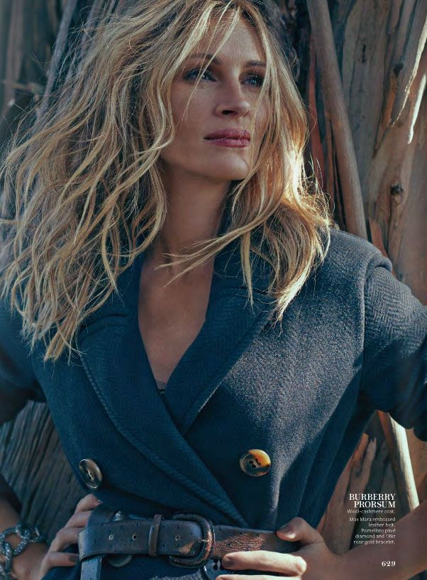 julia roberts instyle magazine september issue 2014 - still in love with this hair color/style
