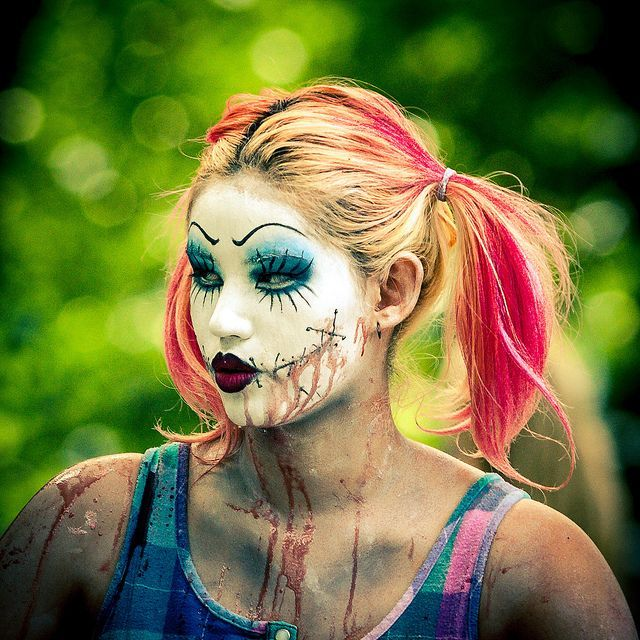zombie Clown costume inspiration