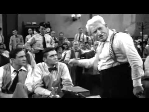 My favorite scene from Inherit the Wind with Spencer Tracy.