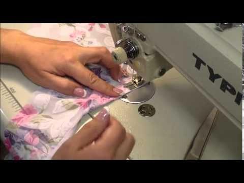 Как сшить платье с круглой горловиной. - YouTube