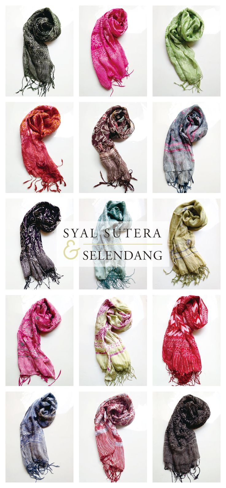 #selendang #shawl #syal #sutera #silk #indonesia #batiks | only on http://thebatik.co.id/syal-selendang-batik/