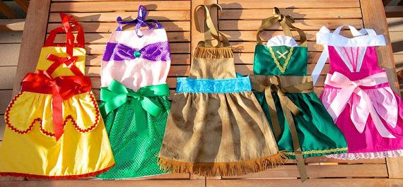 Disney Princess Apron/Dress up dress apron/Princess Apron/Sleeping beauty on Etsy, $35.00