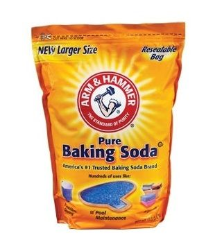 Uses for baking soda: face scrub/wash (then 1apple cider vinegar to 2