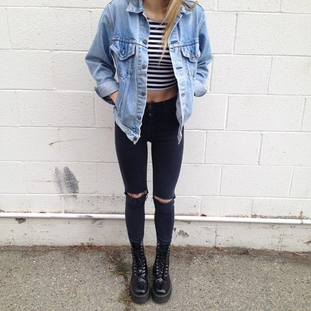 Best 25+ Dr Martens Outfit Ideas On Pinterest | Dr Martens Style Doc Martens Outfit And Doc ...