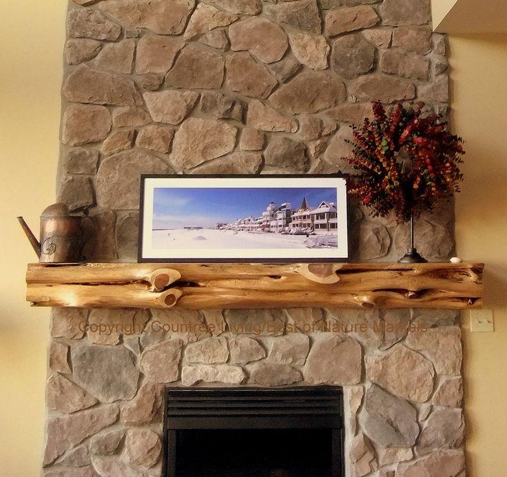Fire place mantel decor and Mantle ideas