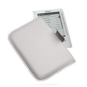 Sony PRSACC/W White Clutch Case by Caselogic for Sony Digital Readers by Sony. $0.96. Styled for business and casual professionals, the PRSA-CCW carrying case is the ideal accessory to your Reader. Whether you're off to the office or running errands around town, this stylish case will help protect your Reader from dings and scratches. It features a magnetic closure for easy insertion and removal of your Reader.Protect your ReaderThis protection case is designed exclusi...