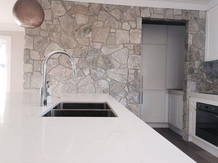 Platinum Grey Stone Random Effect Stackstone Wall Cladding Tiles