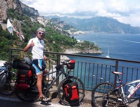 5 continenti in 365 giorni: il viaggio di Rumundu in #bici all'insegna della sostenibilità http://www.energiesensibili.it/it/rumundu_il_giro_del_mondo_green_in_360_giorni/