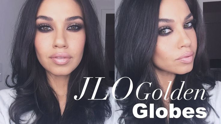 TUTORIAL| JLO Golden Globes Makeup | Eman