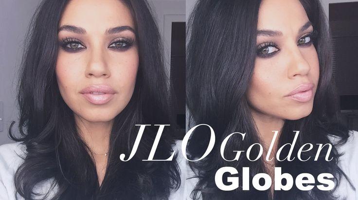 TUTORIAL| JLO Golden Globes Makeup | Eman