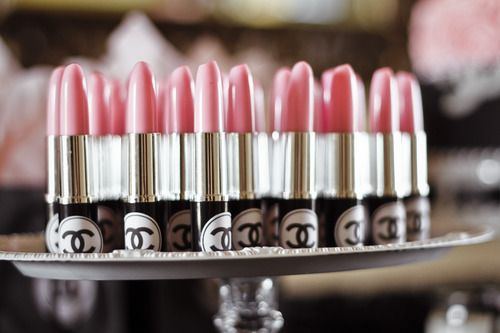 Pen favor for Chanel Bridal Shower