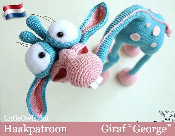 Amigurumi Baby Haakpatroon : 005NLY Giraf ?George? - Amigurumi Haakpatroon - PDF by ...