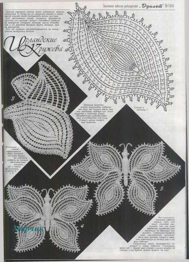 20 besten motif crochet Bilder auf Pinterest | Häkelmaschen ...