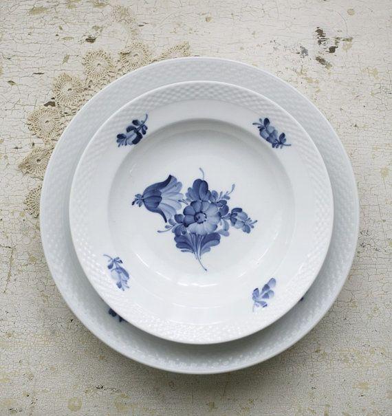 Royal Copenhagen blue flower