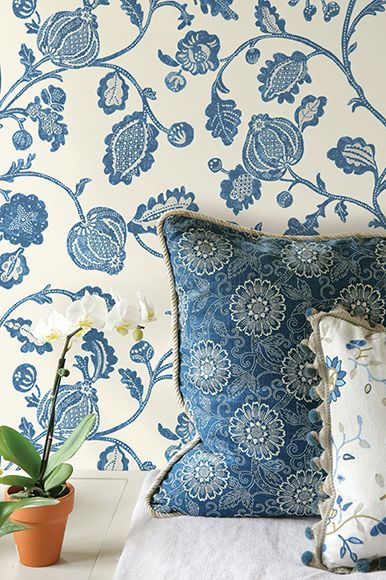 French General - Fabrics and Wallpaper. Available exclusively in Australia from The Textile Company