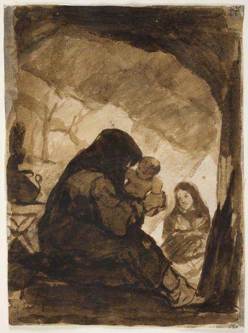 Goya en El Prado: La visita al ermitaño