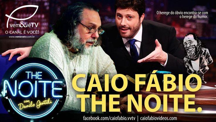 Caio Fábio é entrevistado no programa The Noite, com Danilo Gentili. | 2...