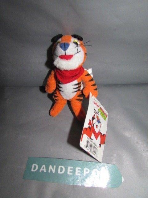 Vintage Kellogg's Bean Bag Wee Bean Tony The Tiger Stuffed Animal 1997 #Kelloggs #tonythetiger #weebean #beanbag #stuffedanimal #frostedflakes #cereal #dandeepop Find me at dandeepop.com