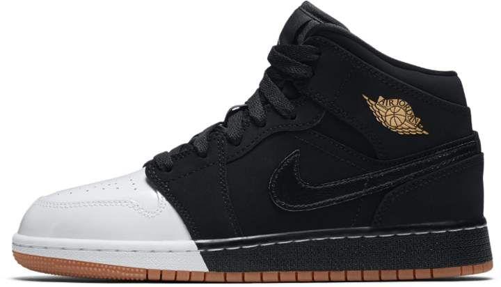 Air Jordan 1 Mid Big Kids' Shoe, by