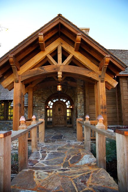 29 Best Images About Timber Frame Entrance On Pinterest